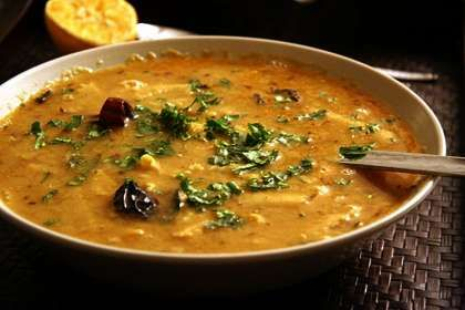 Dal dhokli is a delicious Gujarati Snack dish made with combination of dals and then served by adding dhoklis. It is a typical way to serve Gujarati Delica