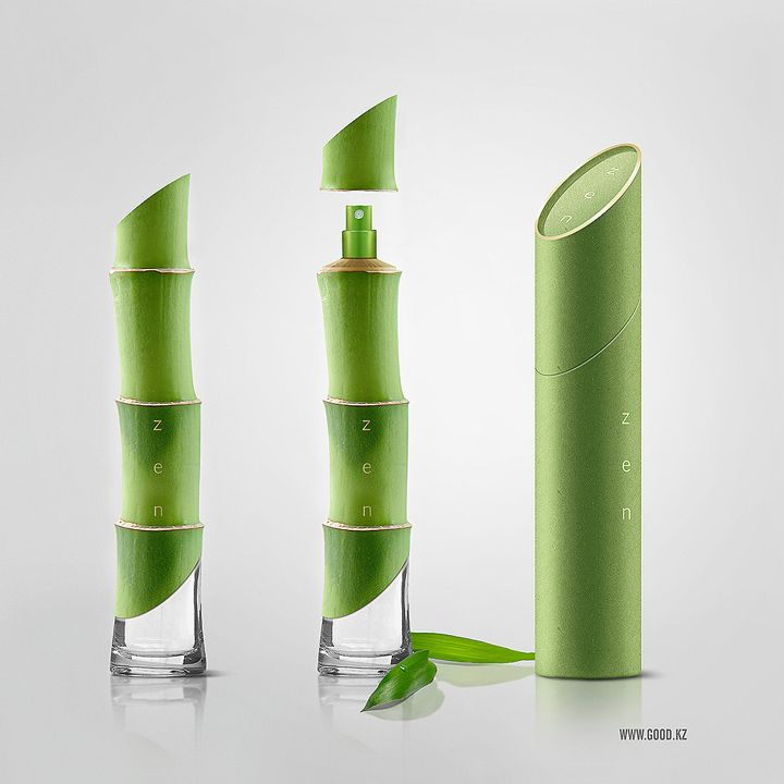 Truly ZEN. The bottle and box #packaging pinned together. PD