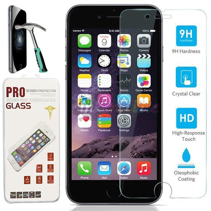 """Premium Real Tempered Glass Film Screen Protector for Apple 4.7"""" iPhone 6  #iPhone #iPhoneProtector #iPhoneScreen #screenprotector"""