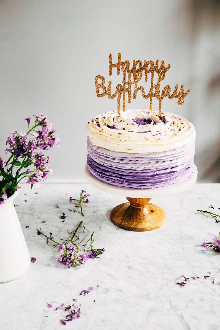 Открытка с днем рождения с лавандой, днем рождения
