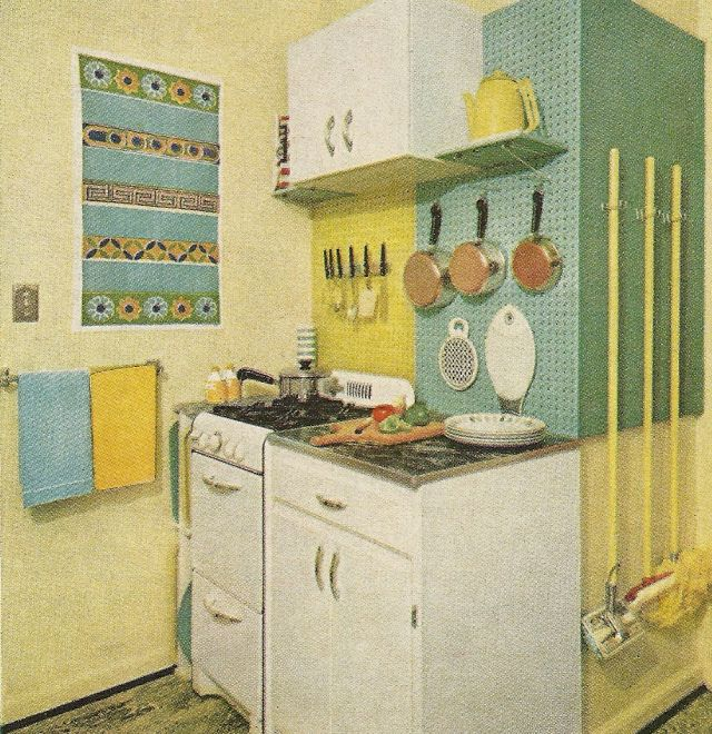 1960s Kitchens 109 best decor 1960's images on pinterest | vintage kitchen, retro