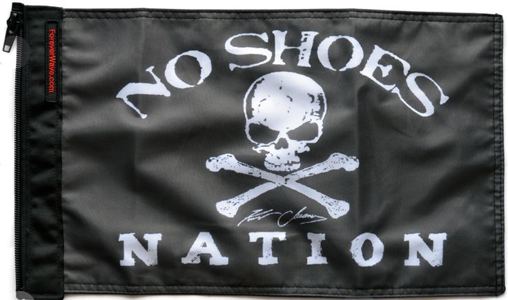 No Shoes Nation Flag