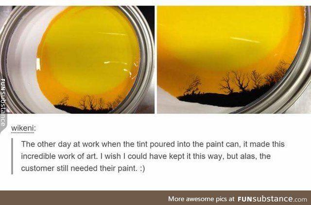 Accidental artwork