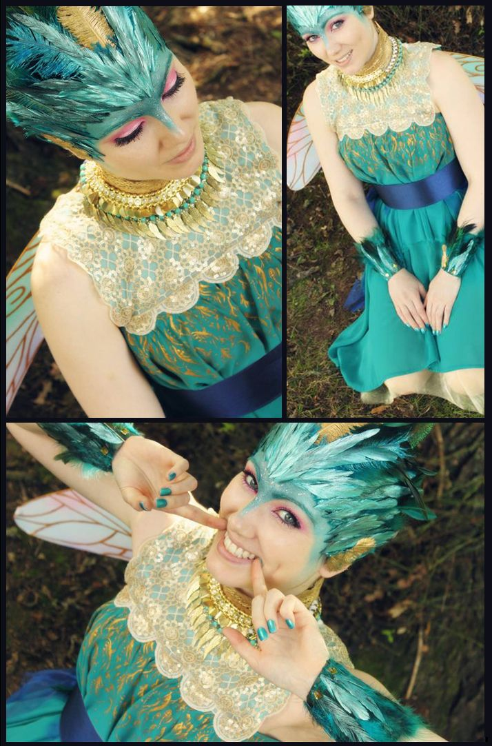 Great cosplay of the Tooth Fairy from Rise of the Guardians!