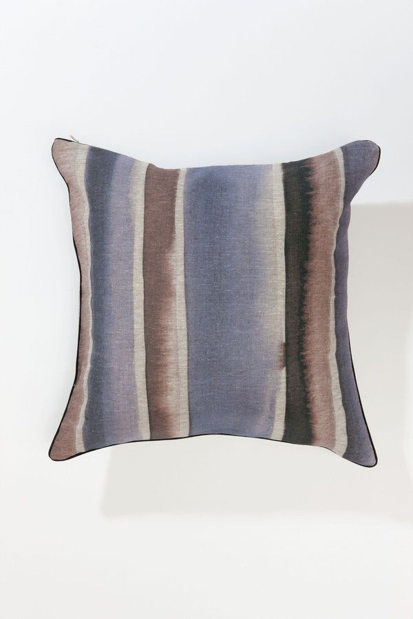 Classic size and shape which adds a spot of interest with beautiful prints and colours  digital or hand printed linen 100% recycled PET poly cushion...