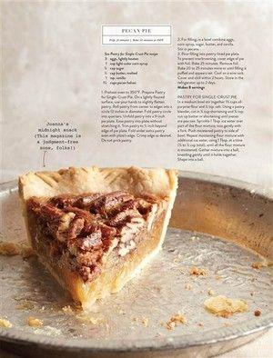 Joanna Gaines Pecan Pie