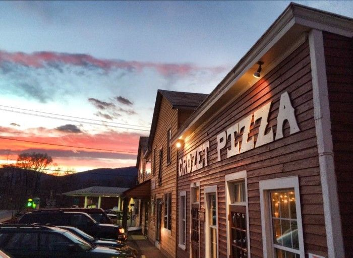 One of our favorites! Crozet Pizza in Crozet, VA near Charlottesville