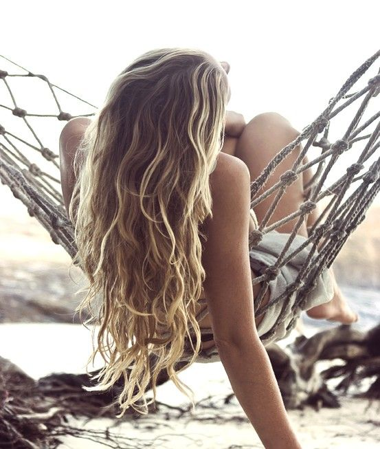 Beach hair for summer:Hair Style Ideas #IdeasForHair #SummerHair