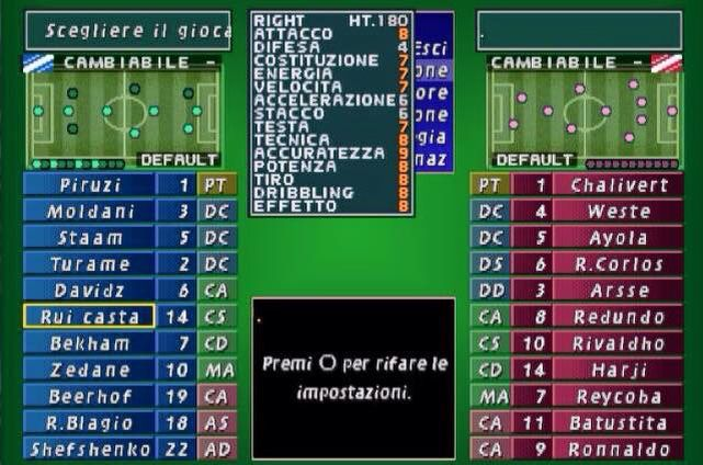 ISS Pro Evolution 1998 for PS1