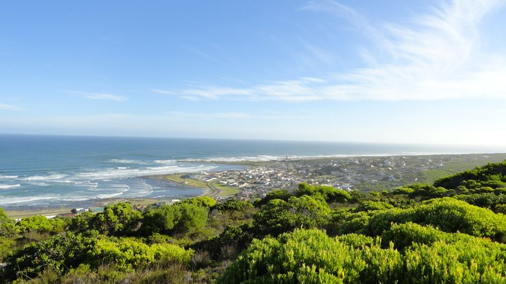 L'Agulhas from lookout point