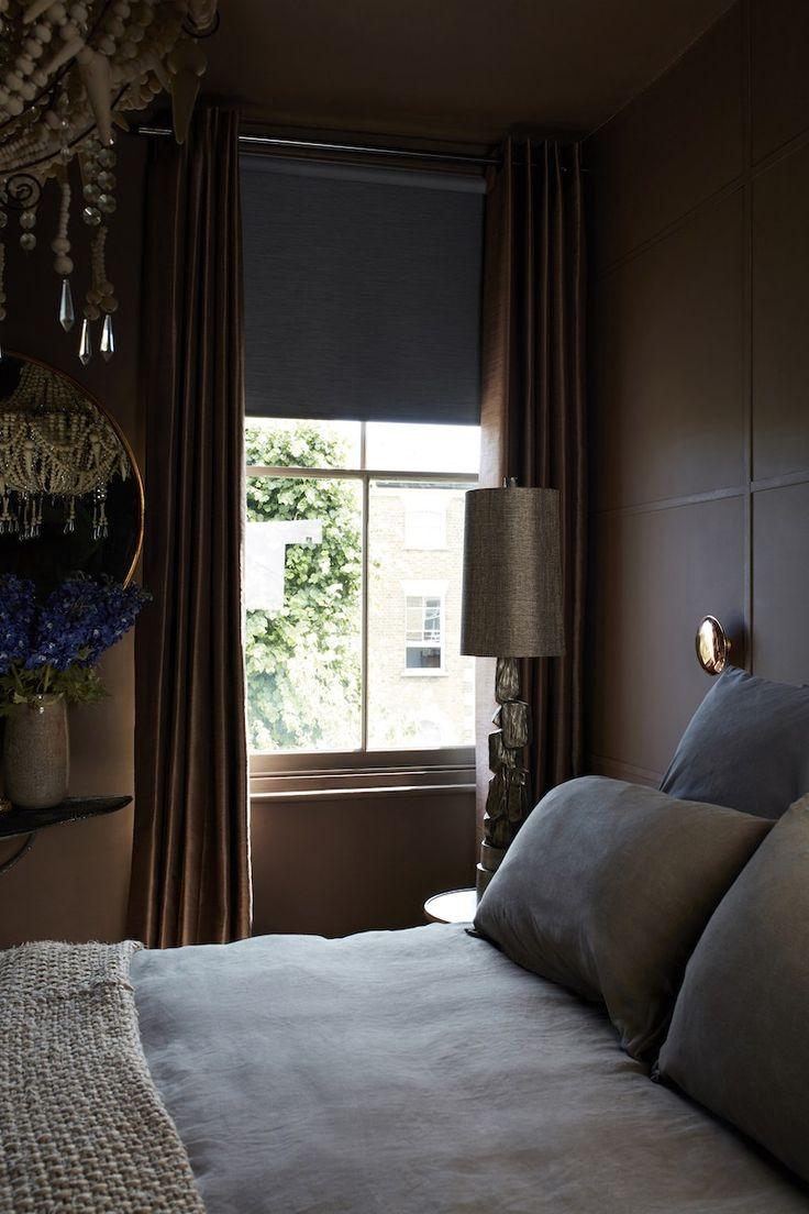 My Crosby brown bedroom