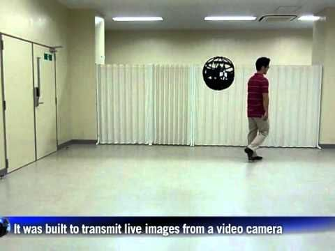 Japanese inventor develops flying sphere drone
