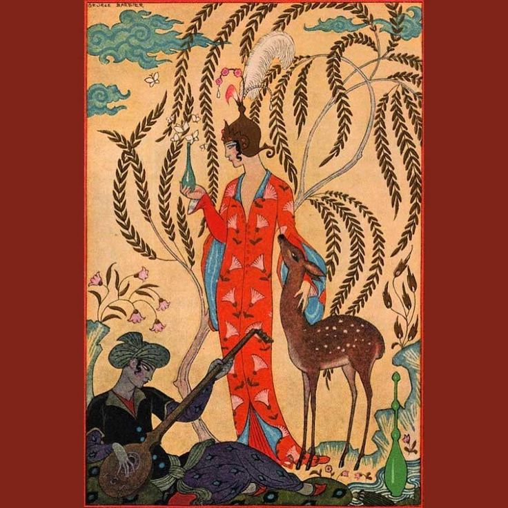 Georges Barbier, 'Persia' for 'The Romance of Perfume' by Richard Le Gallienne