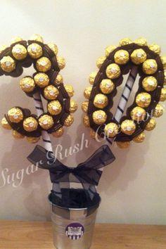Small Number 30 in Ferrero Rocher