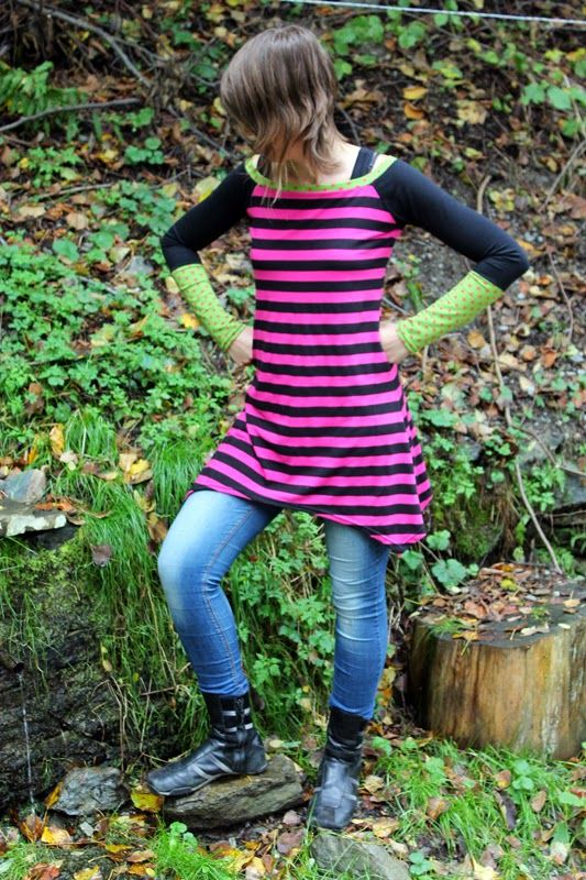 LA PANTIGANA: vestido rayas