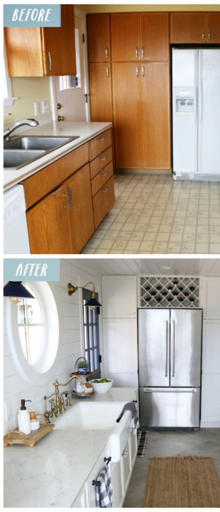 Small Kitchen Makeovers Before And After Small Kitchens Remodel Ideas And Pictures Kitch Kitchen Remodel Trends Kitchen Design Small Small Kitchen Makeovers Small kitchen before and after photos