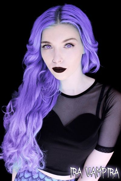 How To Dye My Natural Hair Purple