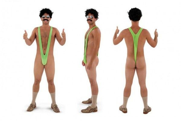 Borat Mankini Männer Badeanzug