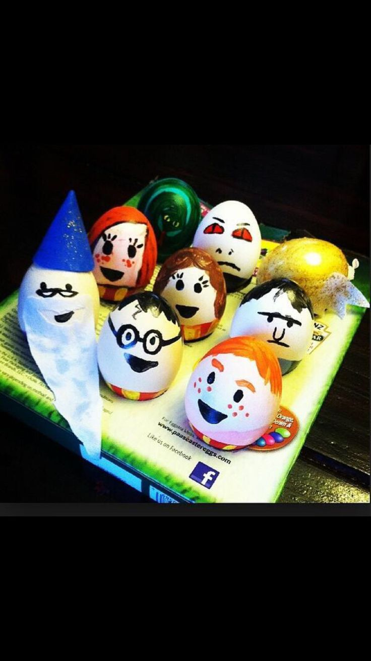 how to make harry potter egg