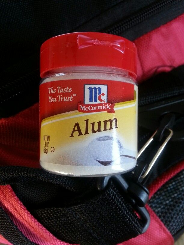 People have asked me why alum is in my medi bag...one reason stops pain immediately and stops growth of cold sore and tongue bites...apply with wet q-tip dipped into a sprinkle of alum into the lid..directly on the sore,  it will sting then go numb.Do it before you go to bed...next day no pain ...it heals by stopping the moisture that helps create the sore...hands down the fastest and magical cure..no one knows what creates them but in a shtf senerio I don't want to be a prisoner of my own…