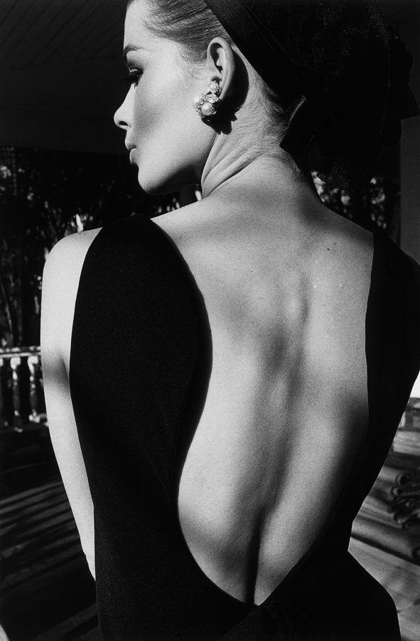 Jeanloup Sieff, The back of Astrid, Palm Beach, Harper's Bazaar, 1964