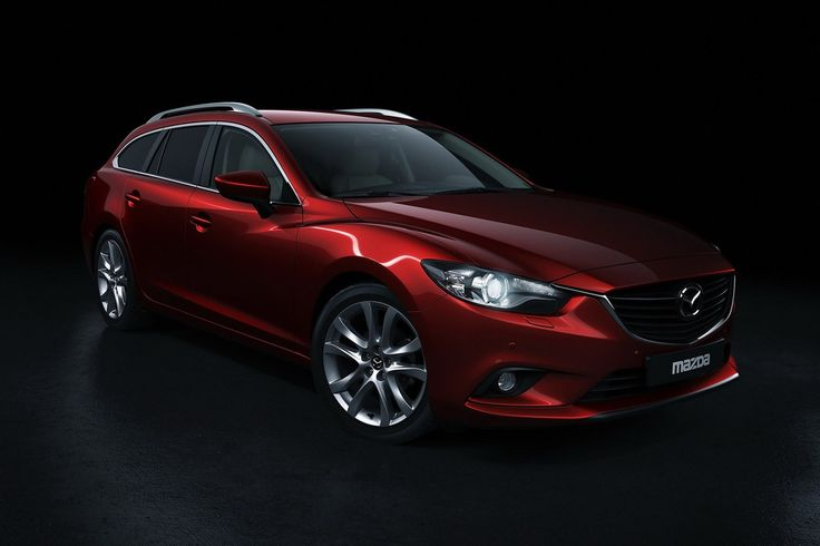 New 2014 Mazda 6 Wagon Front Quarter