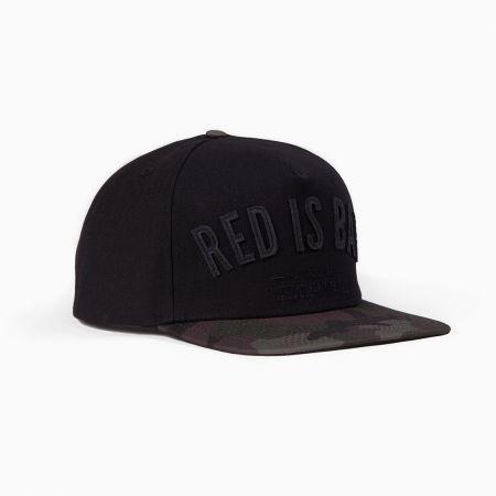Snapback RED IS BAD Freedom Apparel Camo Czerń