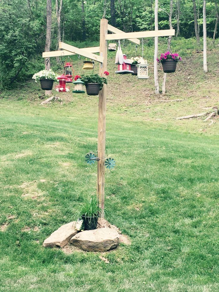 1000 ideas about bird feeding station on pinterest for Bird feeder pole plans