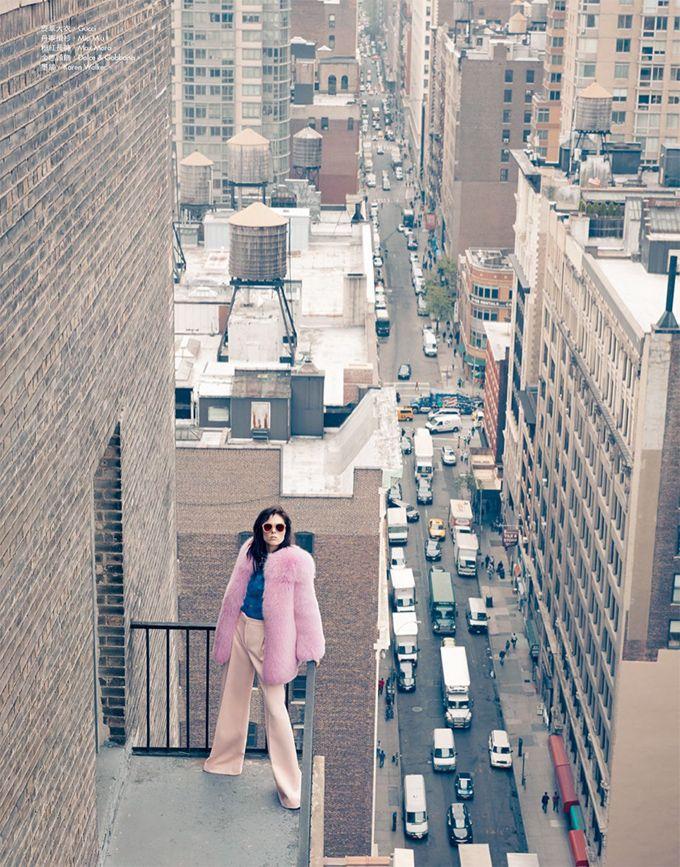 Коко Роша в Harper's Bazaar Taiwan (Интернет-журнал ETODAY)