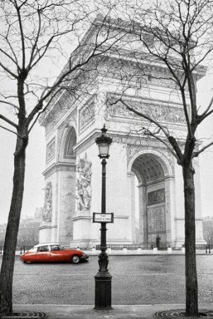 Arc De Triomphe, Paris, France ...