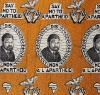 south African political textiles, cloth dates back to early 1900s.  Inspiration for design, fashion.