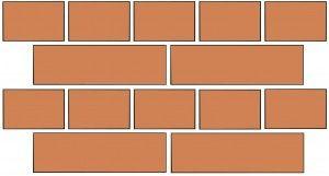 English Bond Brick Brick Masonry Brickwork English Bond