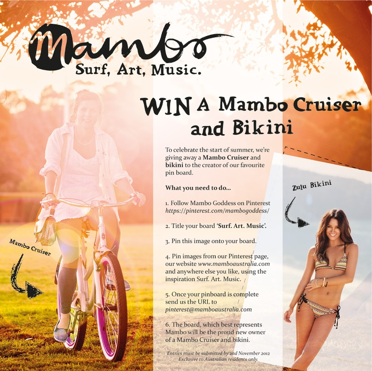 Mambo Summer Pinterest Competition   #striptees