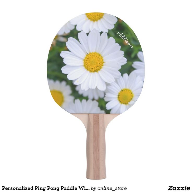 Stiga Table Tennis Paddles Personalized Ping Pong Paddle With Daisy Add Photo