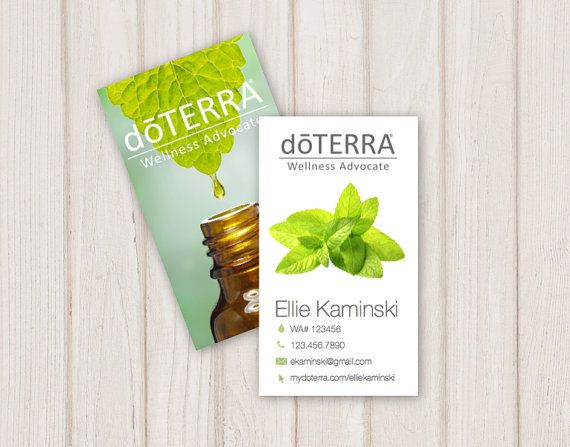 The 25 best ideas about doterra business cards on for Doterra business card template