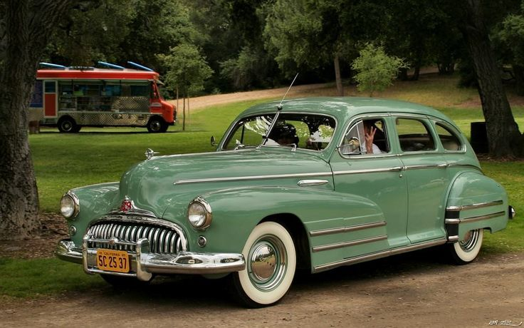 1948 Buick Special 4 Door Sedan New Cogs Casters Could Be