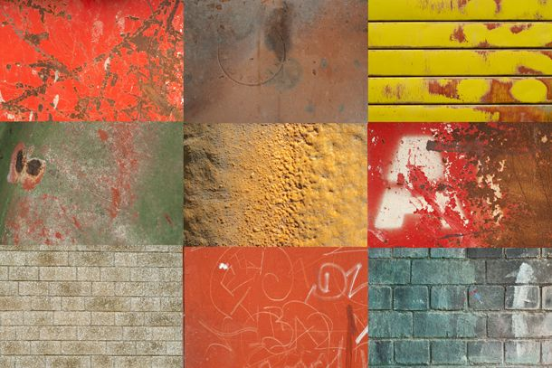 Free Photoshop Textures: Pack 6