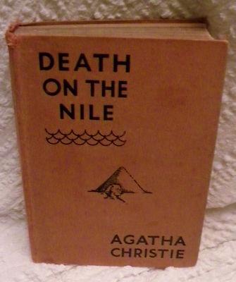 RARE Agatha Christie 1938 US First Edition Hardback Book Death on The Nile | eBay