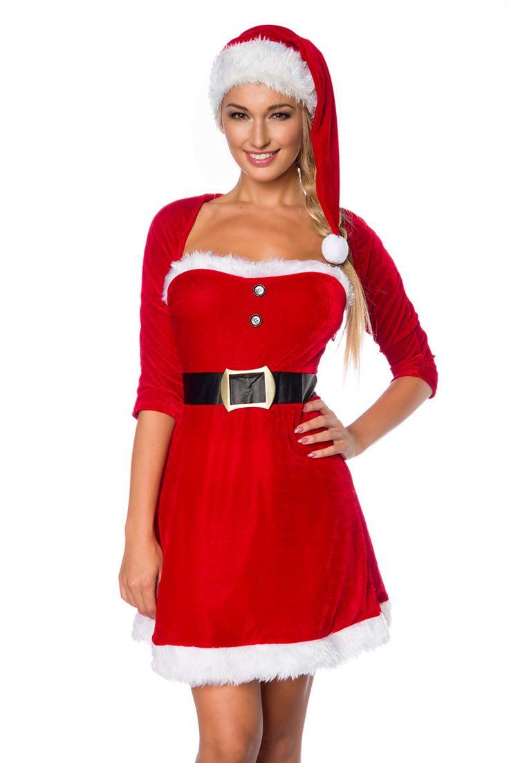 In diesem heißen #Weihnachtskleid kannst du perfekt deinen Liebsten verführen. Probiere es doch einfach mal aus... > https://www.burlesque-dessous.de/x-mas/x-mas/rote-dessous/weihnachtskleid
