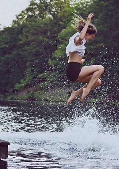 Someone maybe wants her life to be full of joy and excite. You can try this, but in summer.