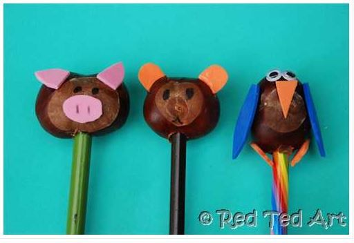 Chestnut Crafts (Pencil Toppers)