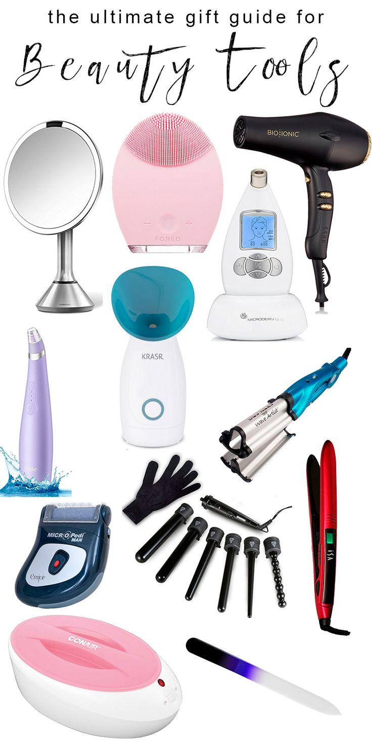 Beauty Tools Gift Guide - the best beauty tools that need to be on your Amazon Wish List! #giftguide #beautytools #beautygadgets