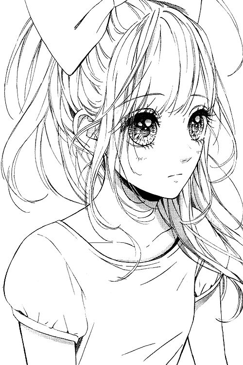 manga eye coloring pages - photo#24