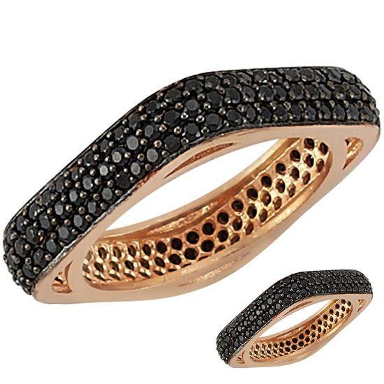 925 ayar Gümüş Tamtur Bayan Yüzük - 925 ayar gümüş yüzükte 3 tam tur siyah zirkon taşlardan oluşmaktadır. Bayan yüzük gümüş üzeri kırmızı altın kaplamadır. Siparişlerinizi dilediğiniz ölçüde seçebilirsiniz. Tamturun ağırlığı ölçünüze göre 5 ile 8 gr arasında değişir. / http://www.yuzuksitesi.com/925-ayar-gumus-tamtur-bayan-yuzuk-10360