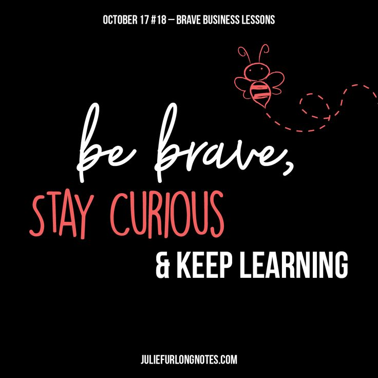 Use your curiosity to open a whole new world, be brave and ask the questions floating around in your head. You never know what you might learn!  What's a random fact you've learnt recently?  #becurious #wholenewworld #notes #juliefurlongnotes #learn #keeplearning #askquestions #randomfact #bebrave #brave #quote #quotes #quotetoday #quotestoliveby #quotesaboutlife #quoteoftheday #quotesofinstagram #wisdomquotes #wordsofwisdom #blog #blogger #creative #design #art #artwork #bee…