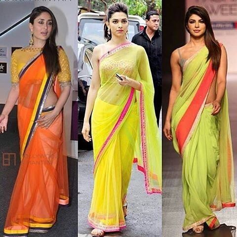 WEBSTA @ bollywoodstylefile - #DoubleTap on your favourite saree look. @bollywoodstylefile 😍