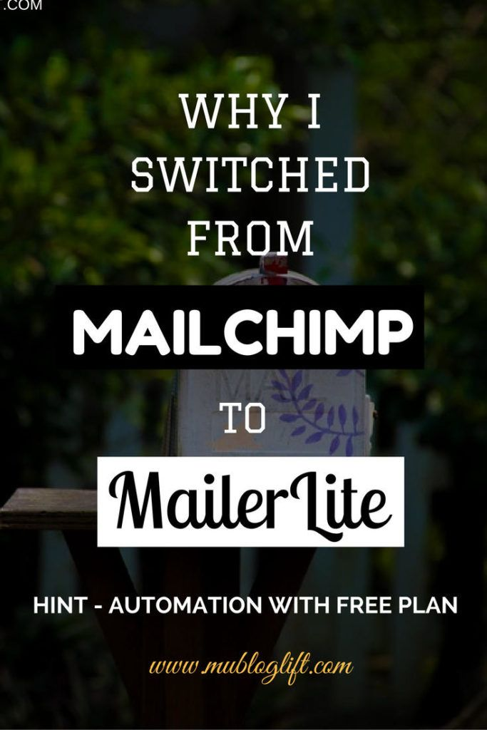 Email Marketing is essential to grow your blog and MailerLite makes it easier for you. Know why I switched from MailChimp to MailerLite and why I love having autoresponders,
