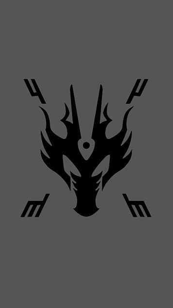 仮面ライダー龍騎 リュウガロゴ待受の画像 プリ画像