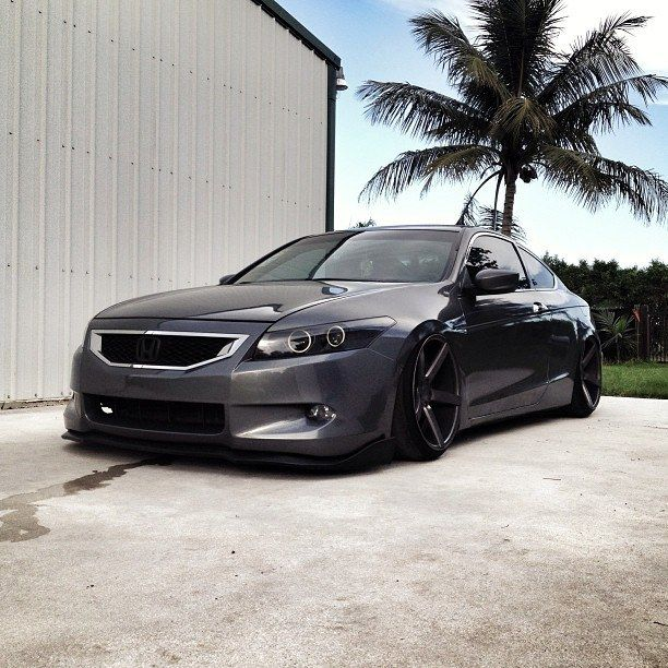 Honda Accord on Matte Graphite CV3s