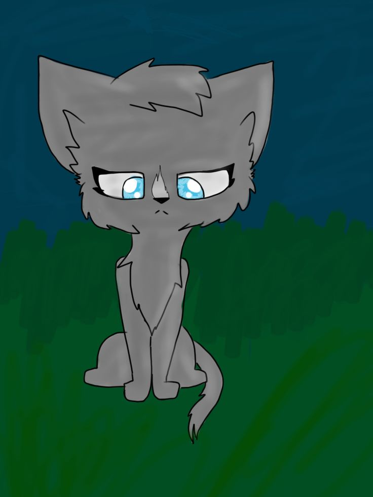 Blue star! I LOVE HER!!! For a warrior cat contest :3